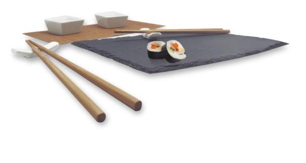 Vin Bouquet Сет за суши с каменна плоча